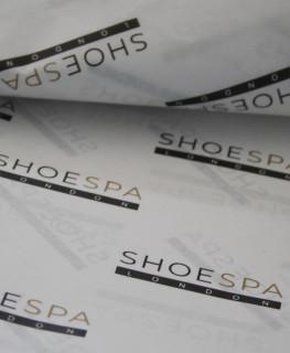 Seidenpapier mit logo
